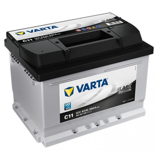 Varta Black Dynamic 12V 53Ah 500A Jobb+ autó akkumulátor (C11) - 553401