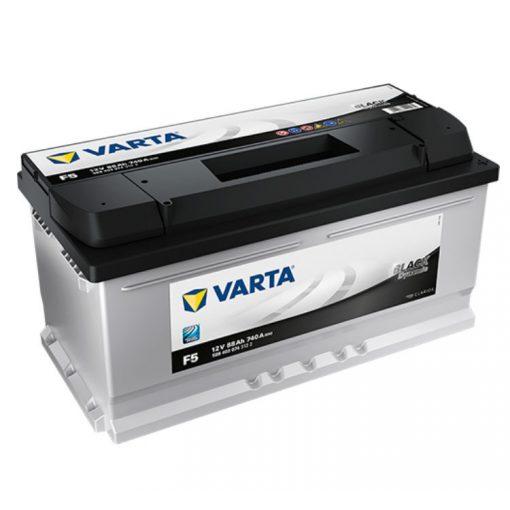 Varta Black Dynamic 12V 88Ah 740A Jobb+ autó akkumulátor (F5) - 588403