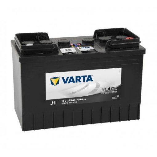 Varta Promotive Black 12v 125Ah teherautó akkumulátor - 625012