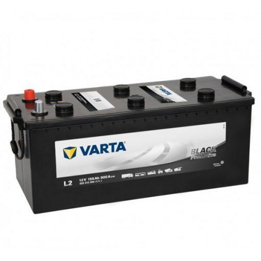 Varta Promotive Black 12v 155Ah teherautó akkumulátor - 655013