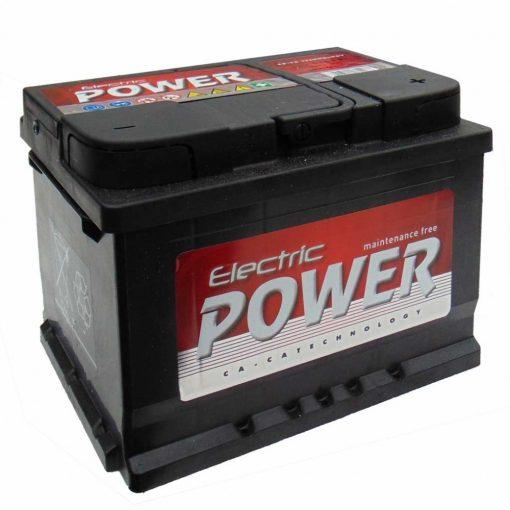 Electric Power 12V 55Ah 450A Bal+ autó akkumulátor