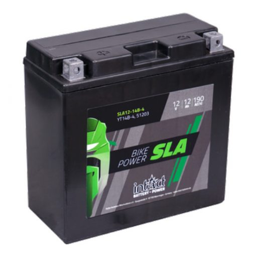 IntAct YT14B-4 12V 12Ah 190A AGM SLA motor akkumulátor - 512903