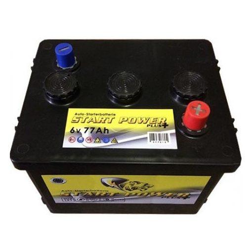 Start Power 6V 77Ah akkumulator